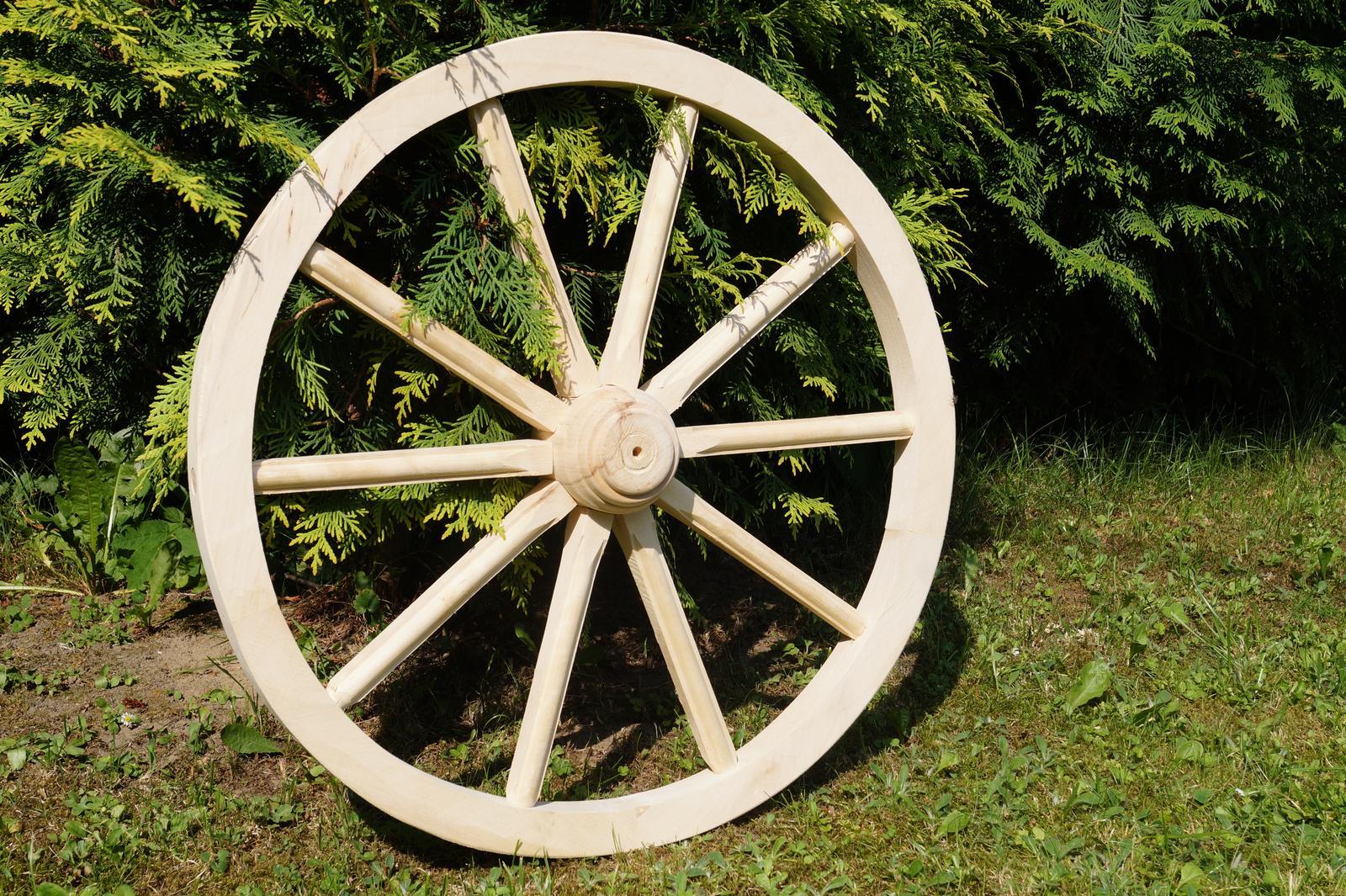 Drevené dekoračné koleso 70cm - Obrázok č. 2