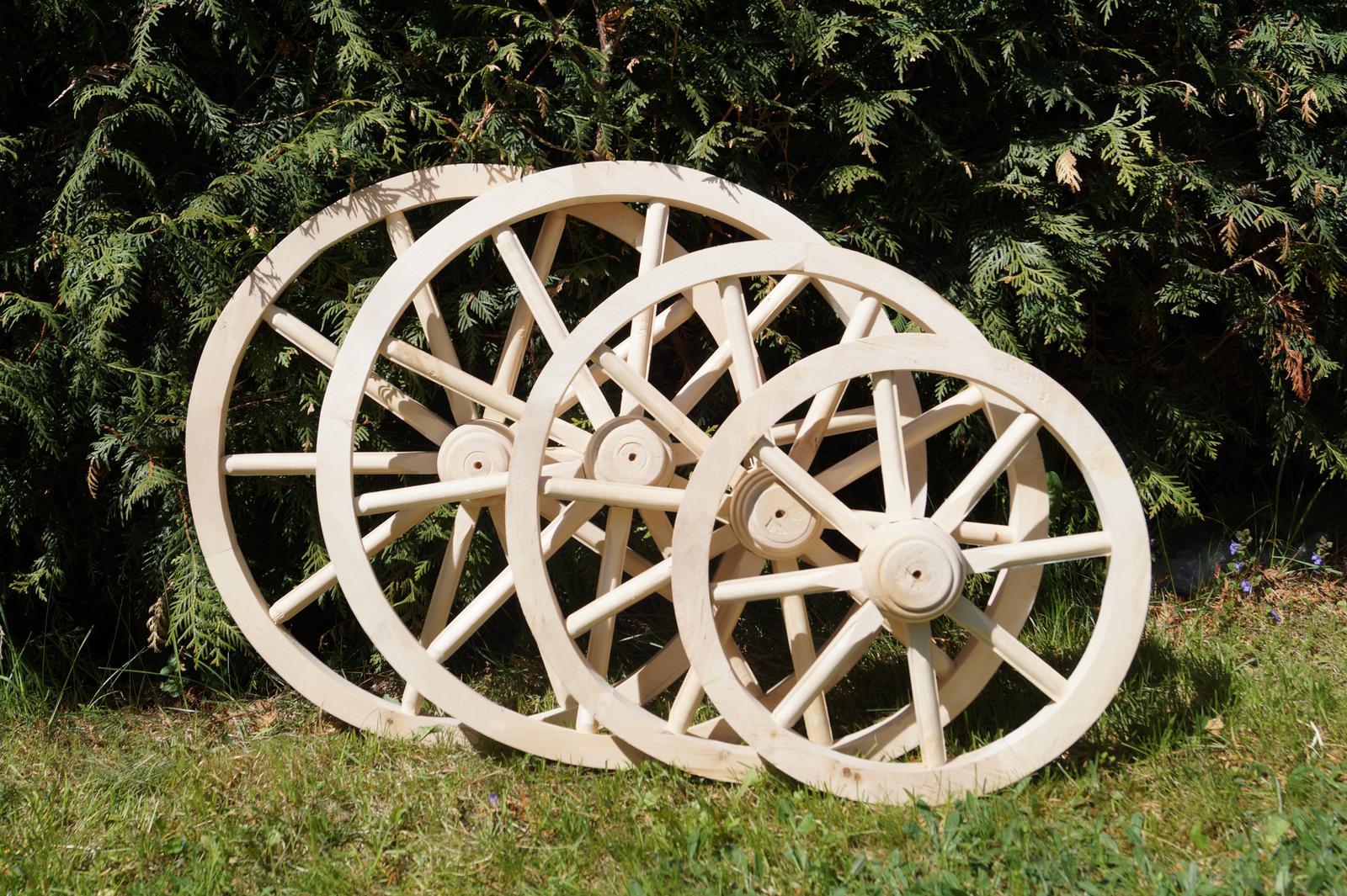 Drevené dekoračné koleso 70cm - Obrázok č. 3