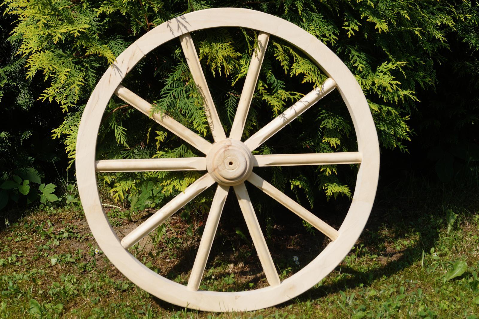 Drevené dekoračné koleso 80cm - Obrázok č. 1