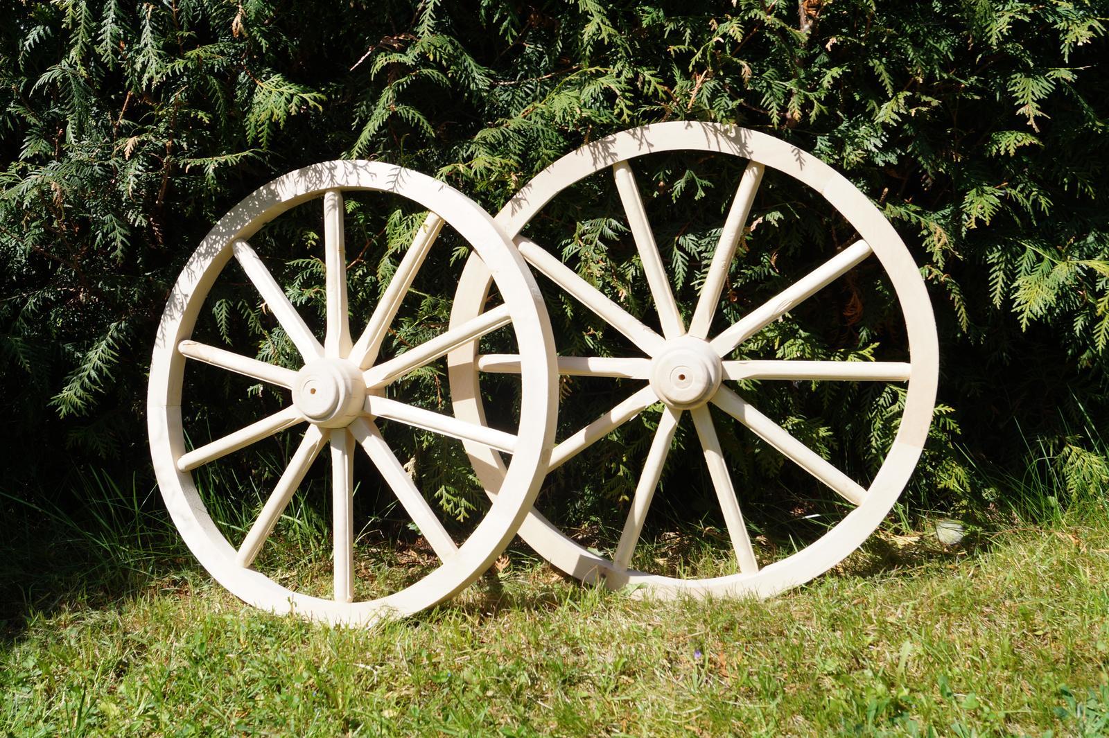 Drevené dekoračné koleso 50cm - Obrázok č. 1