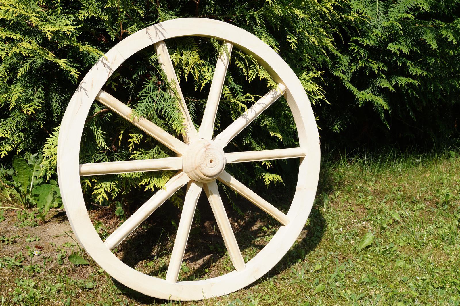 Drevené dekoračné koleso 40cm - Obrázok č. 1