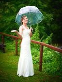 svatební šaty - ivory, vel. 38, 37