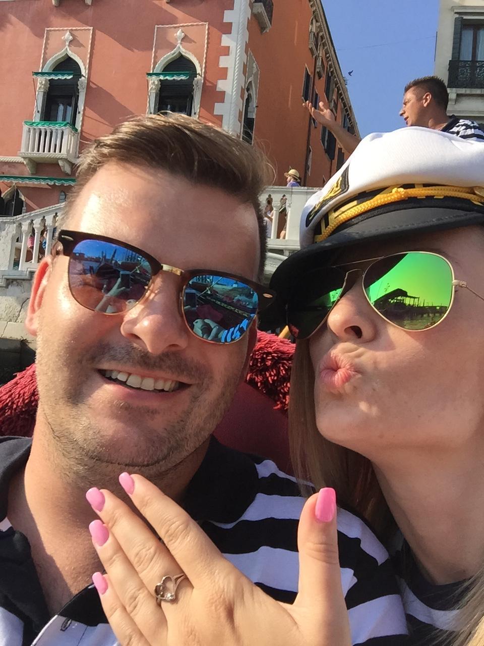 K+J=❤️ - Zasnuby Venezia 29.8.2015