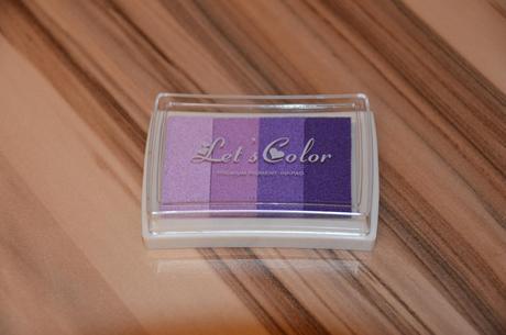 Razítkovací polštářek Let's color -fialové odstíny - Obrázek č. 1