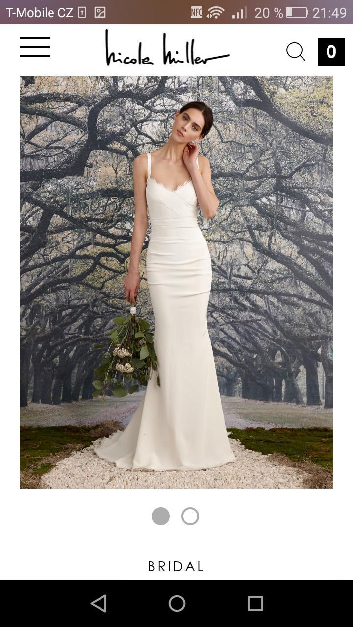 Cena za ušití takových šatů - - Svatební šaty 89e590a769
