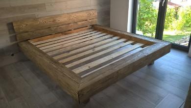 Drevena postel z masivu - Obrázok č. 3