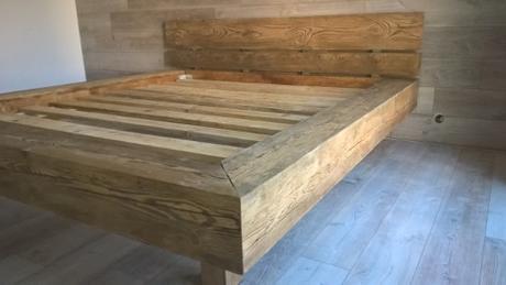 Drevena postel z masivu - Obrázok č. 4