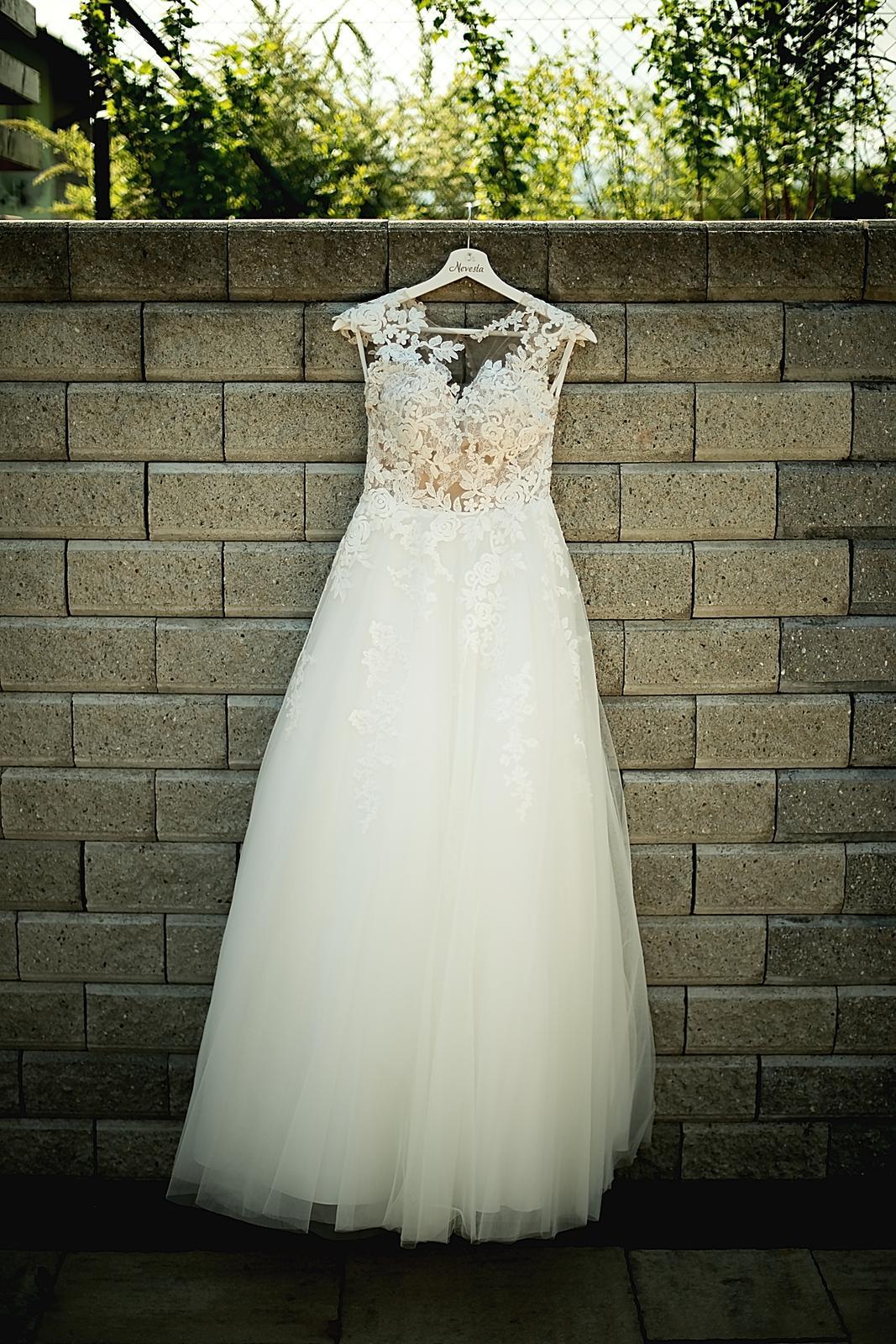 svadobné šaty Pronovias, model FELICIDAD - Obrázok č. 1