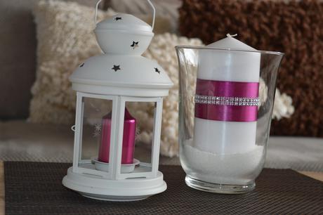 6x svíčka ve skle - Obrázek č. 1