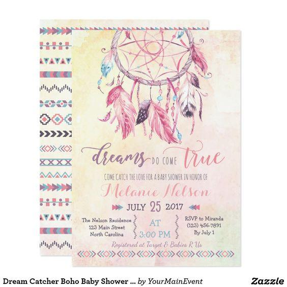 Prvotní inspirace - Svatební oznámení s lapačem snů - budu vyrábět vlastnoručně