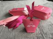 Krabičky na darčeky pre svadobných hostí Flamingo,