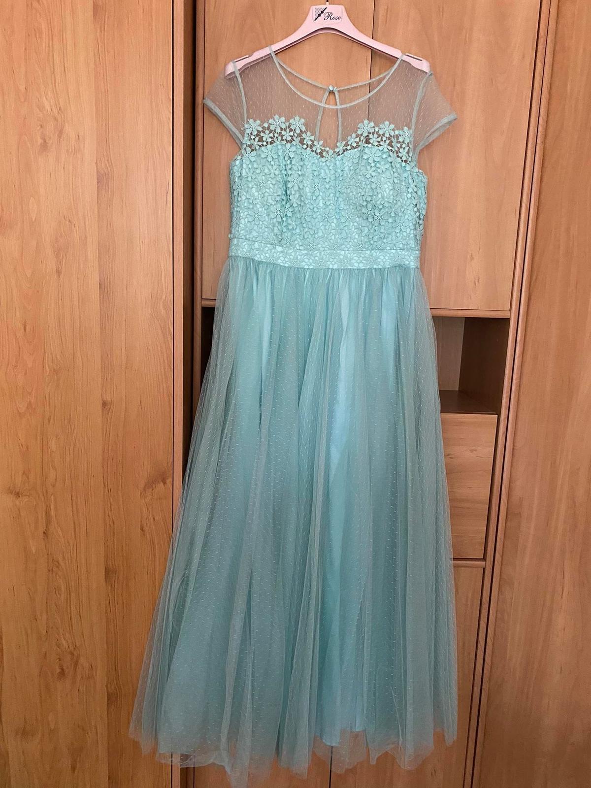Popolnočné šaty veľ. 44 - Obrázok č. 1