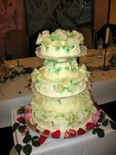 velký dort pro hodně strávníků