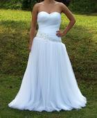 Zánovní princeznovské svatební šaty, 40