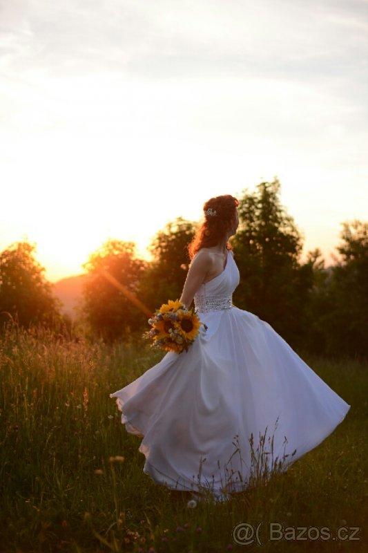 Co budu mít na svatbě. - Tak nakonec budu mít tyto svatební šaty.
