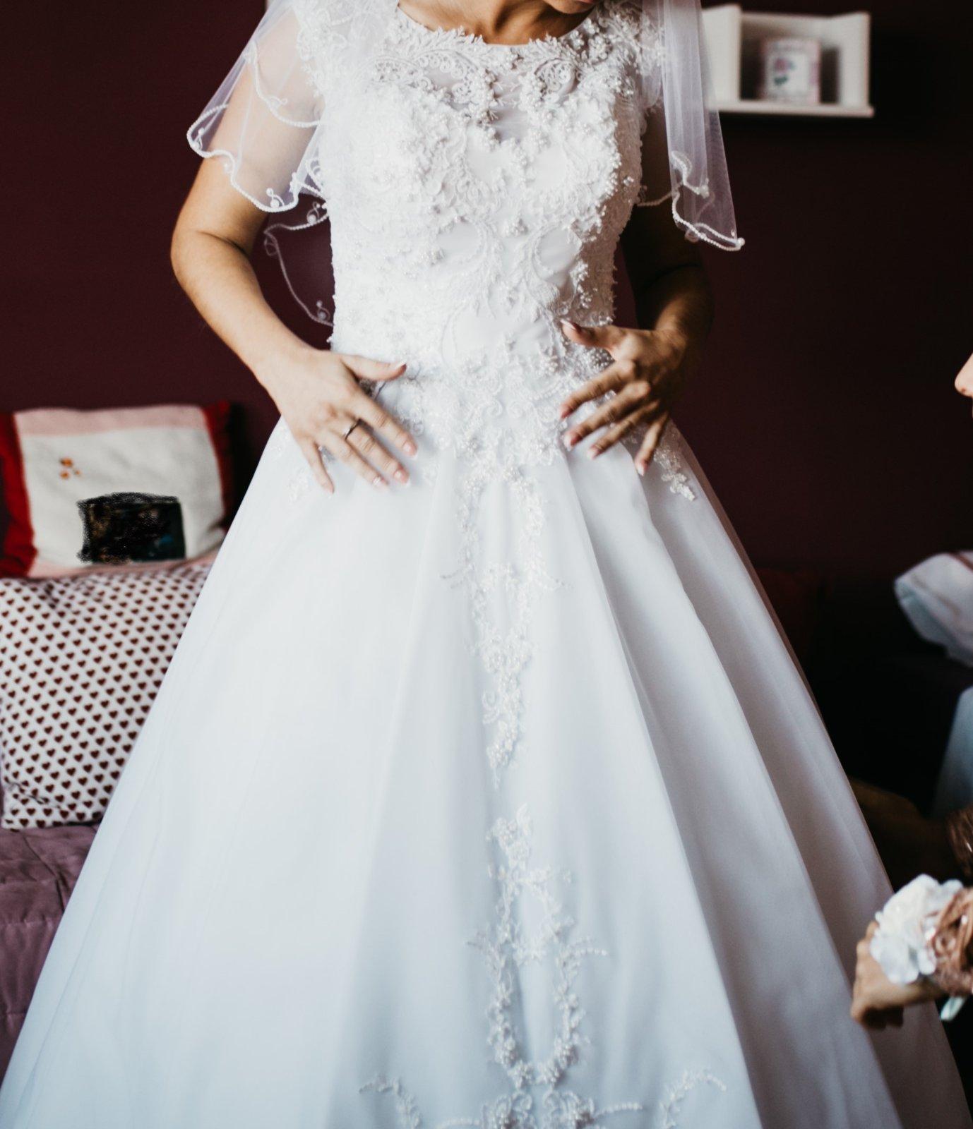 Svadobné šaty Infinity 18 - Obrázok č. 1