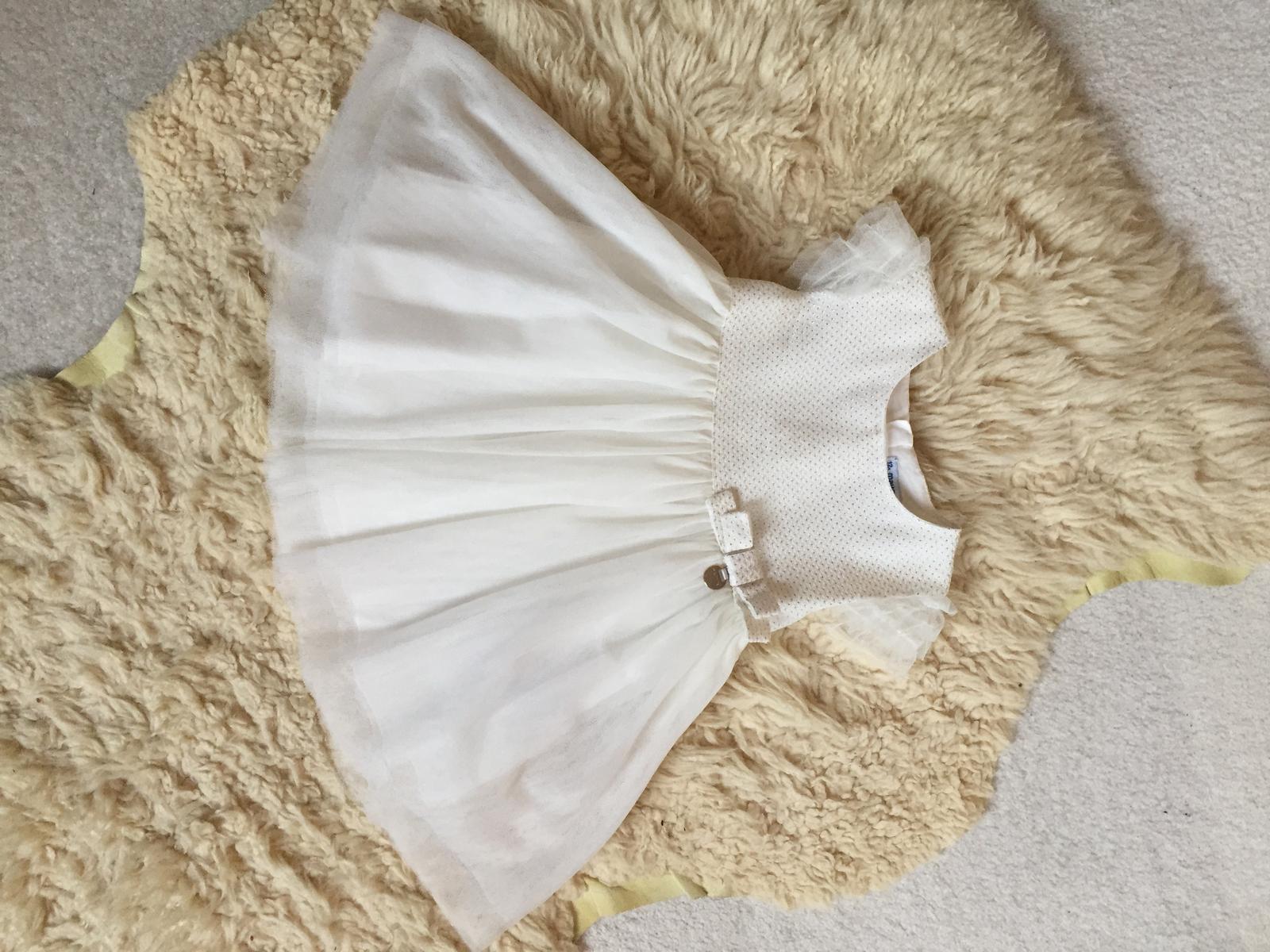 Svatební šaty pro malou družičku - Majoral - Obrázek č. 1