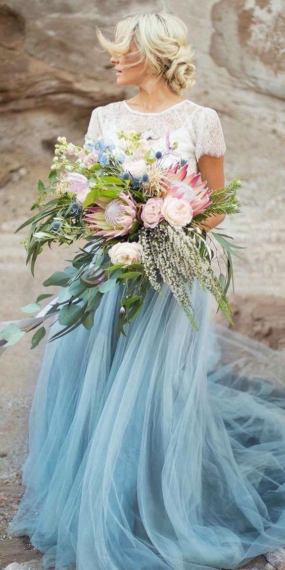 Farebné svadobné šaty - Obrázok č. 13