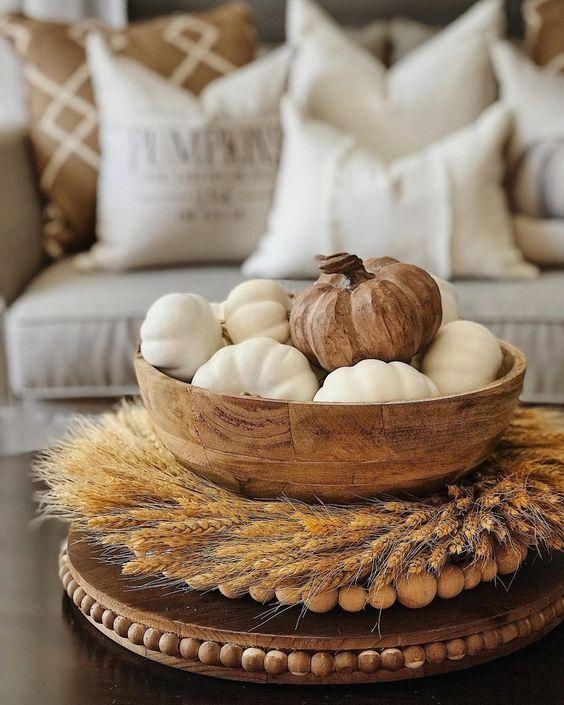 Jesenné dekorácie v obývačke - Obrázok č. 10
