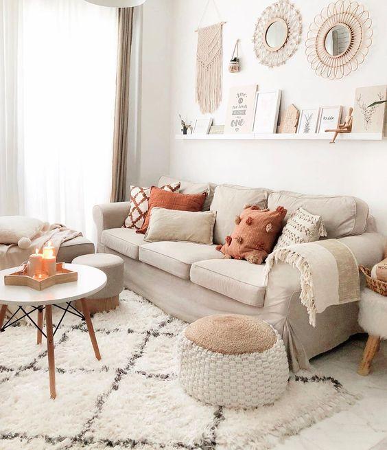 Jesenné dekorácie v obývačke - Obrázok č. 13