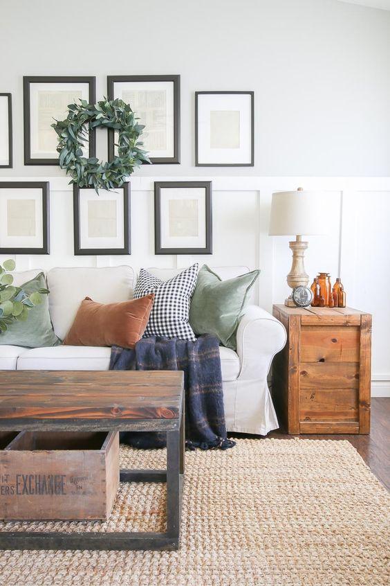 Jesenné dekorácie v obývačke - Obrázok č. 7
