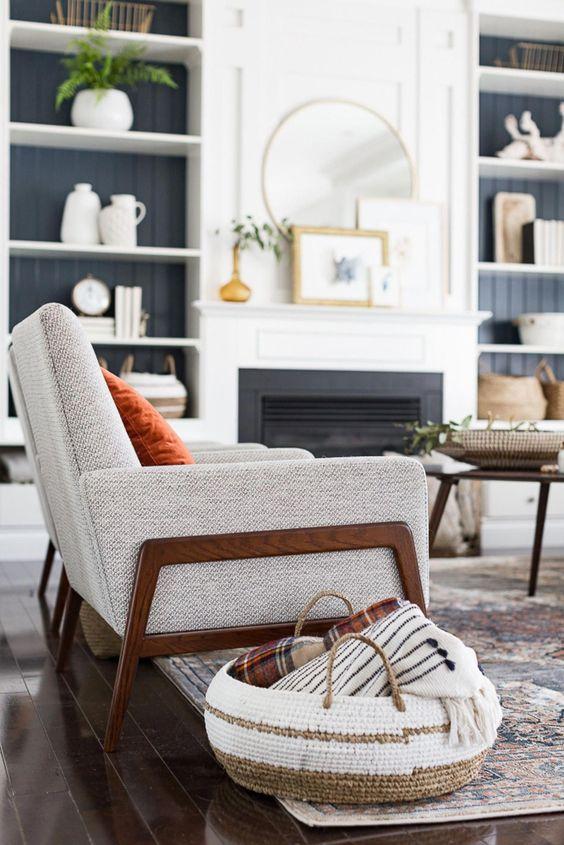 Jesenné dekorácie v obývačke - Obrázok č. 5