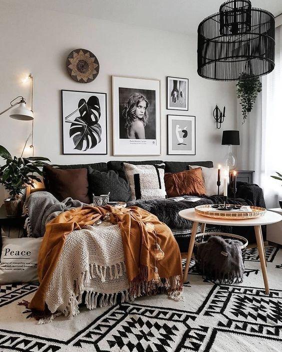 Jesenné dekorácie v obývačke - Obrázok č. 14