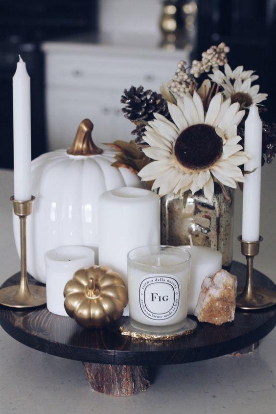 Jesenné dekorácie v obývačke - Obrázok č. 19