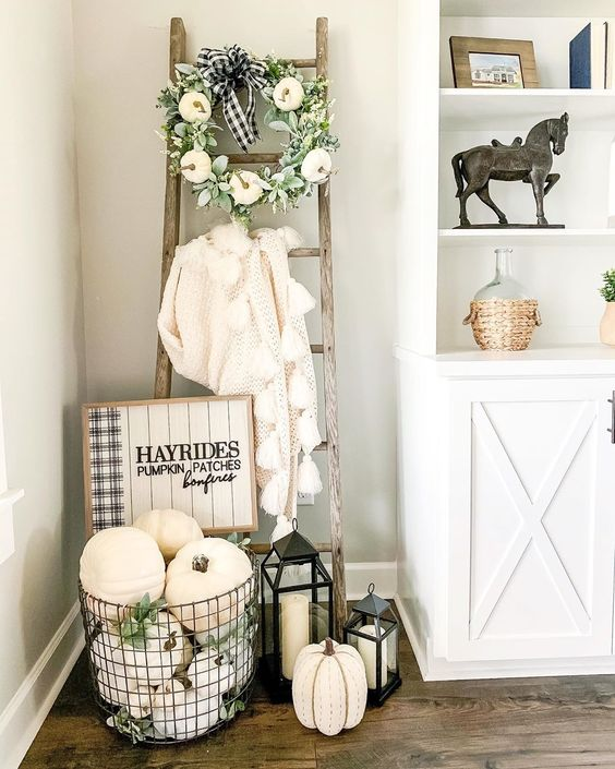 Jesenné dekorácie v obývačke - Obrázok č. 23
