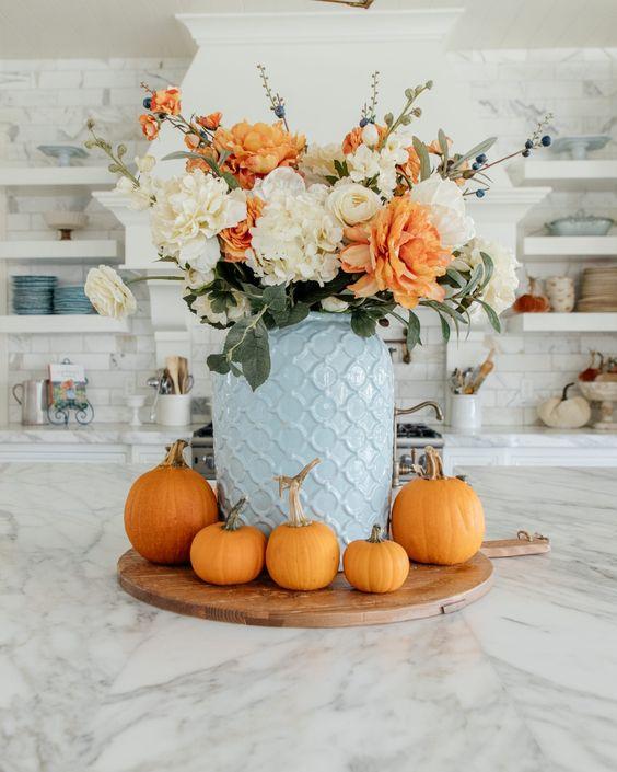 Jesenné dekorácie v obývačke - Obrázok č. 29