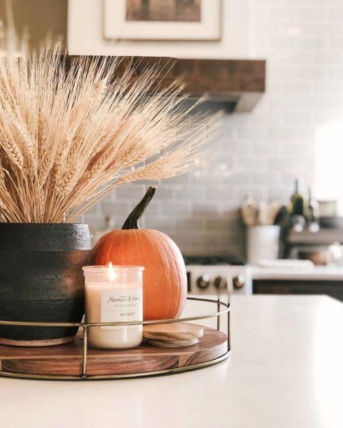 Jesenné dekorácie v obývačke - Obrázok č. 33