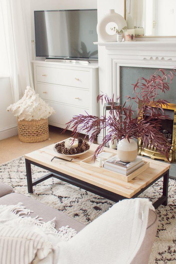 Jesenné dekorácie v obývačke - Obrázok č. 30