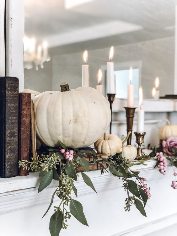 Jesenné dekorácie v obývačke - Obrázok č. 35