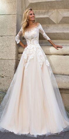 Svadobné šaty s rukávmi - Obrázok č. 4