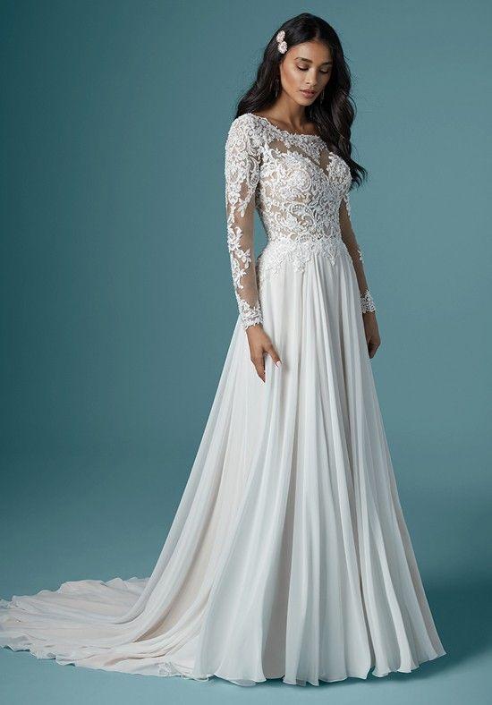 Svadobné šaty s rukávmi - Obrázok č. 5