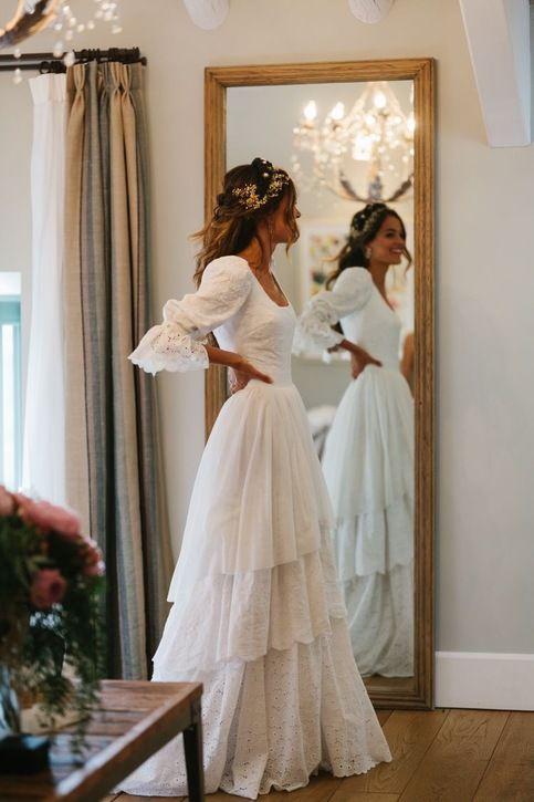 Svadobné šaty s rukávmi - Obrázok č. 2