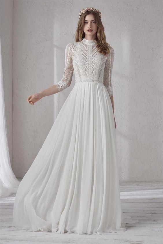 Svadobné šaty s rukávmi - Obrázok č. 11