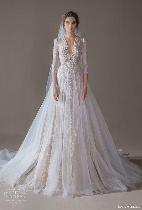 Svadobné šaty s rukávmi - Obrázok č. 18
