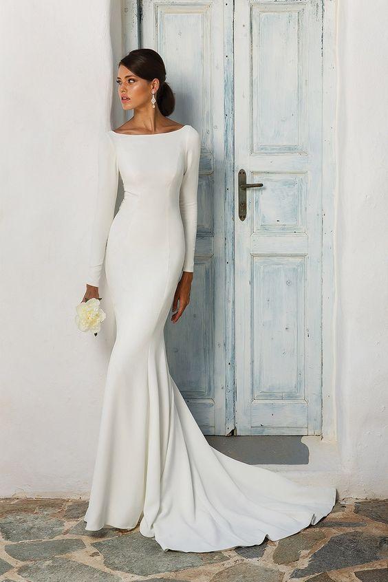 Svadobné šaty s rukávmi - Obrázok č. 12