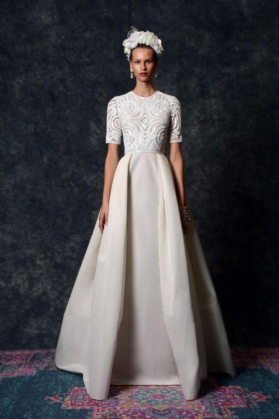 Svadobné šaty s rukávmi - Obrázok č. 14