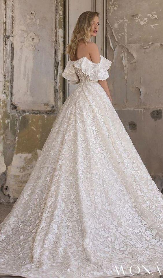 Svadobné šaty s rukávmi - Obrázok č. 13