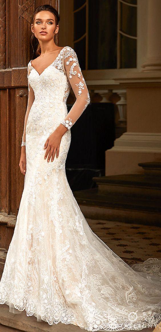 Svadobné šaty s rukávmi - Obrázok č. 17