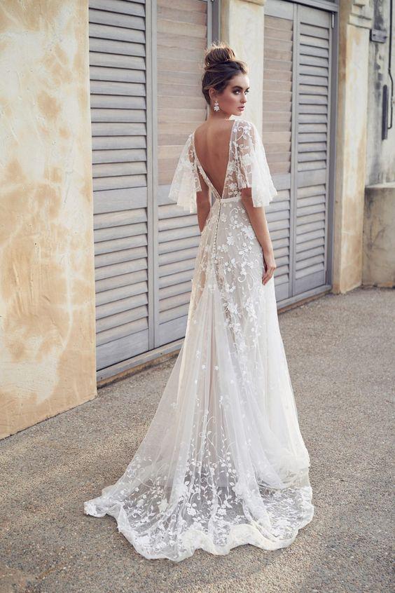 Svadobné šaty s rukávmi - Obrázok č. 19