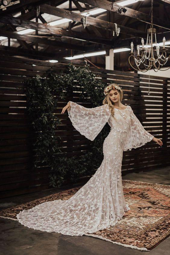 Svadobné šaty s rukávmi - Obrázok č. 21
