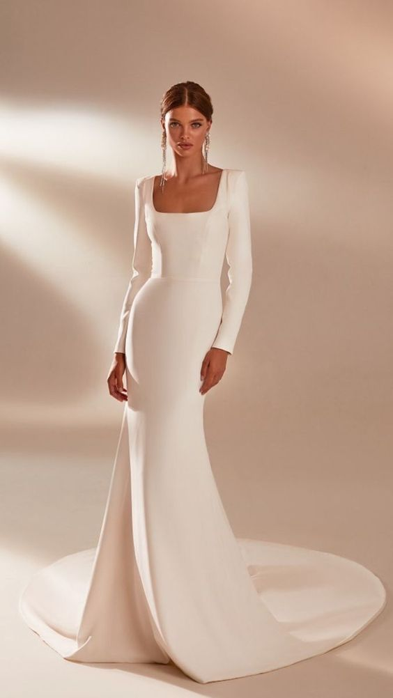 Svadobné šaty s rukávmi - Obrázok č. 32