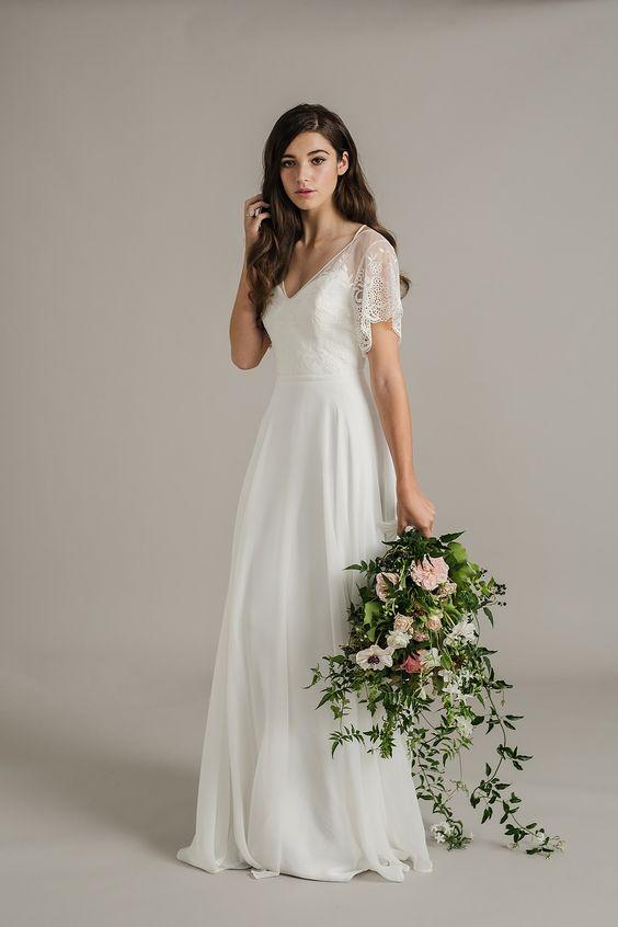 Svadobné šaty s rukávmi - Obrázok č. 48