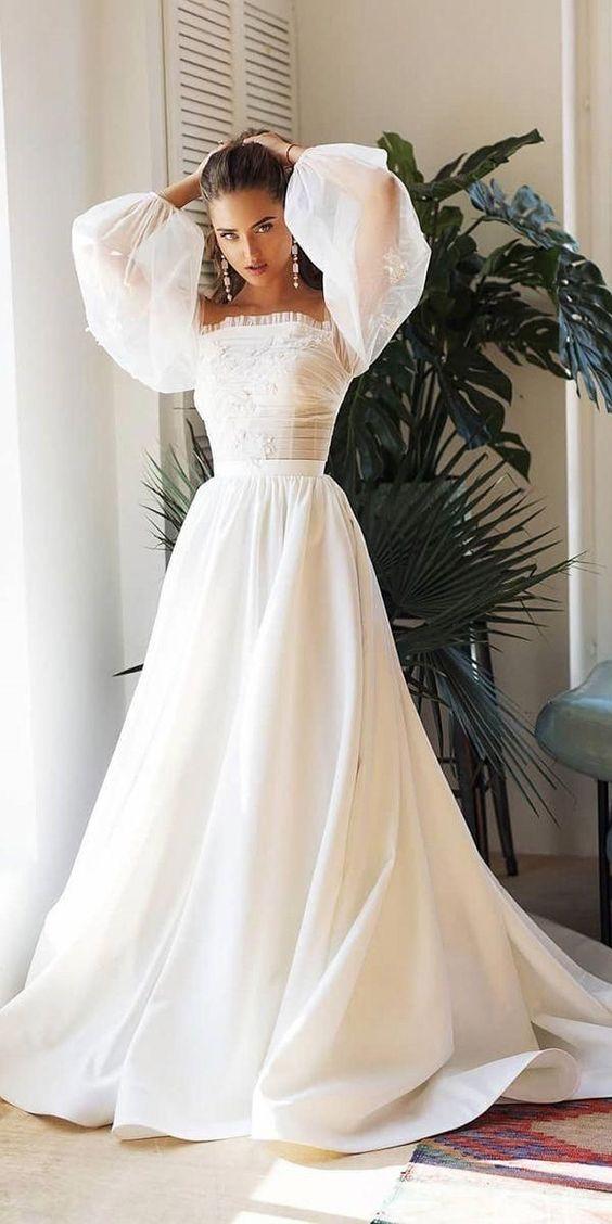 Svadobné šaty s rukávmi - Obrázok č. 40