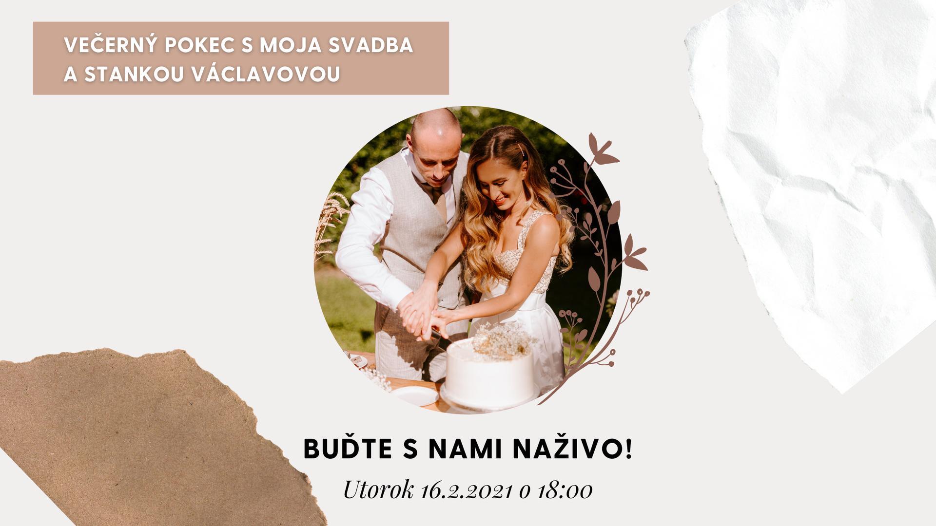 Moja Svadba bude LIVE!🥳✌️