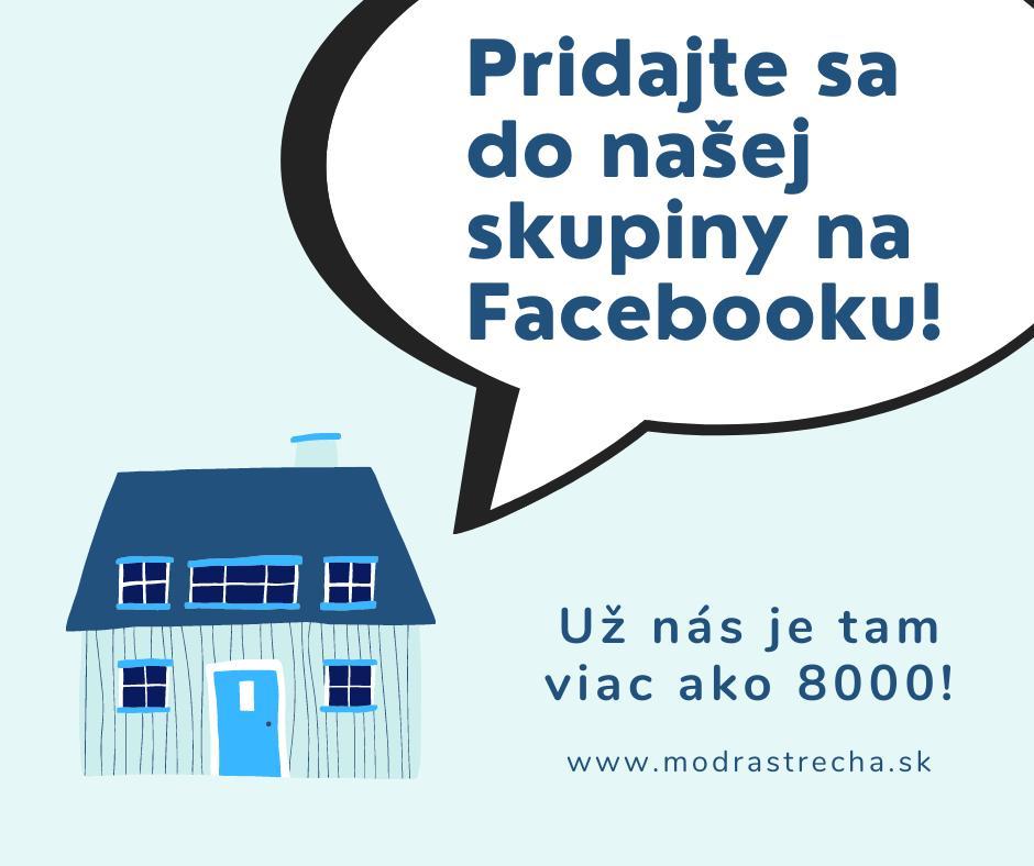 """Mesiac prešiel a v našej Facebook skupine je nás o 2000 viac! ;-) Vedeli ste, že máme skupinu na Facebooku s názvom """"Stavba domu, interiér, záhrada, chalupa, domácnosť""""? Aj v nej sa navzájom inšpirujeme a vytvárame príjemný priestor o stavaní, rekonštrukcii, zariaďovaní, bývaní, chalupárčení či záhrade. Poraďme si navzájom, ukážme naše pokroky alebo vychytávky a vytvorme spoločne skupinu plnú užitočných rád. 🙂 Skupinu nájdete tu: https://www.facebook.com/groups/919949505122362/ 😎 - Obrázok č. 1"""