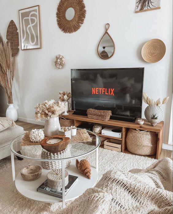 Jesenné dekorácie v obývačke - Obrázok č. 53